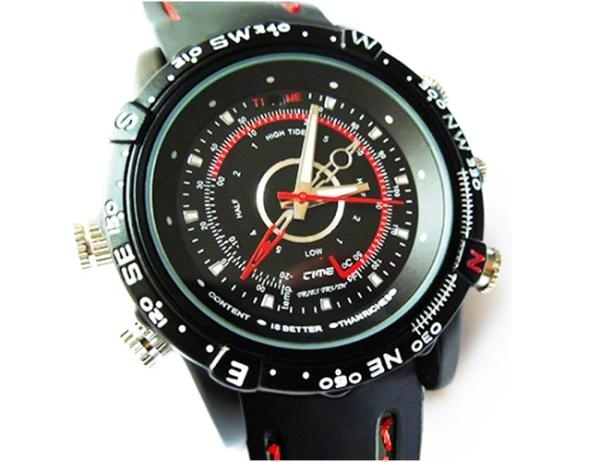 MARCOVÁ SUPERAKCIA - Vodeodolné hodinky s ukrytou spy. 9a7c636eaf4